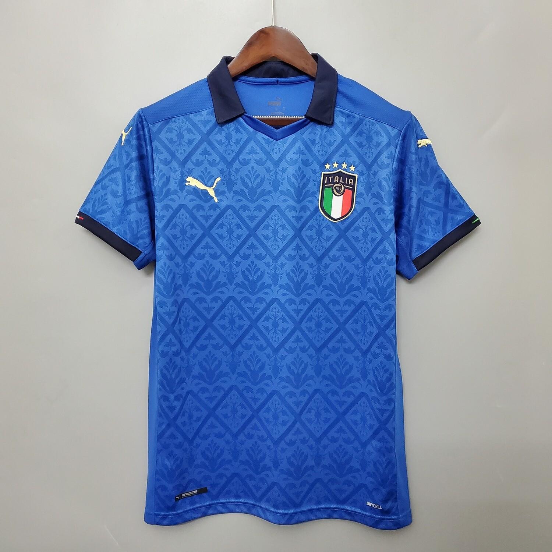 Camisa Branca  Home da Itália 2019-2020 Puma