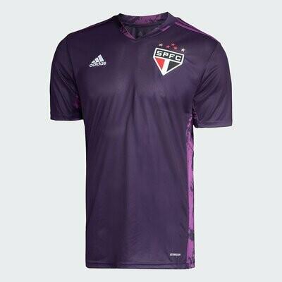 Camisa de Goleiro São Paulo I 20/21 Torcedor Adidas Masculina - Roxo