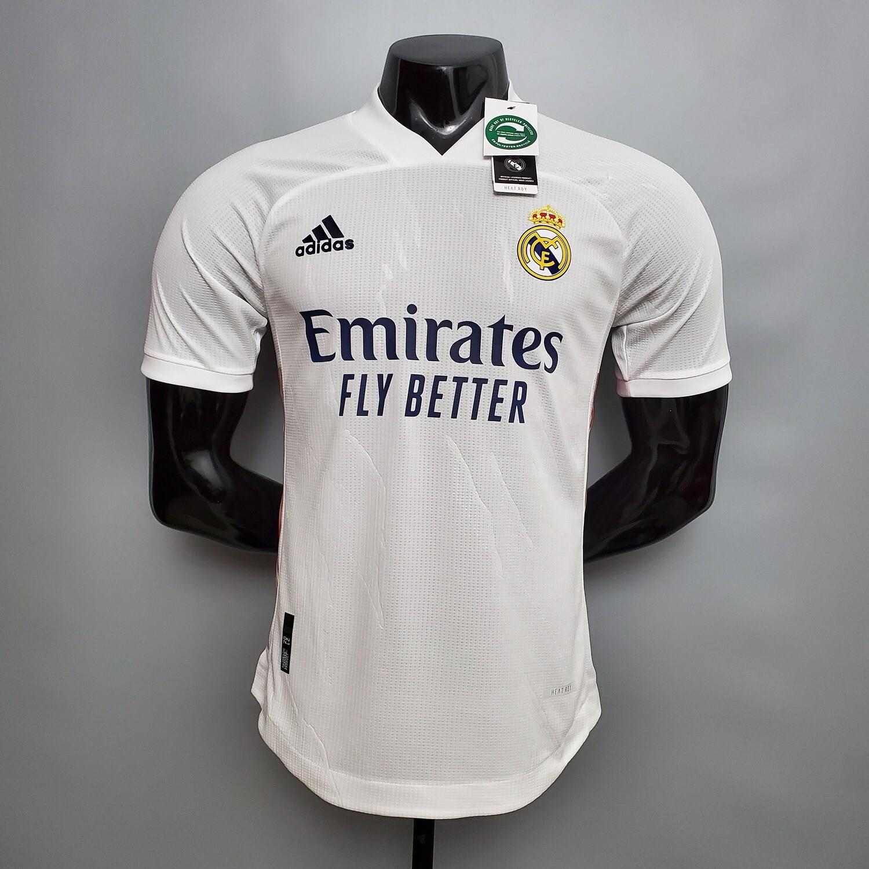 Camisa Real Madrid Home 2020/2021 Jogador