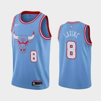 Camisa Regata Nike Chicago Bulls City Edition-Masculina LAVINE 8