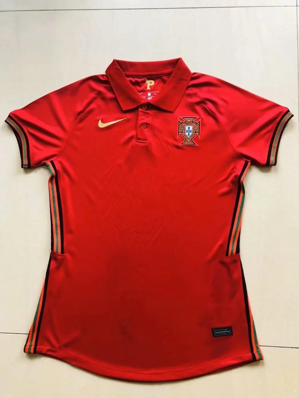 Camisa Portugal Home 2020 Nike Feminina