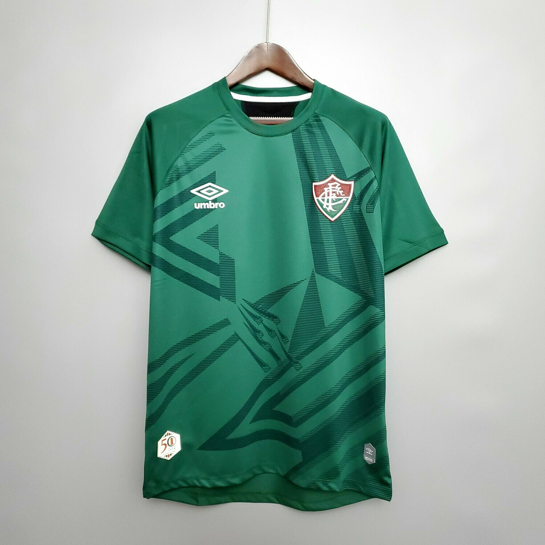 Camisa de Goleiro Fluminense 20/21  Umbro Masculina - Verde e Preto