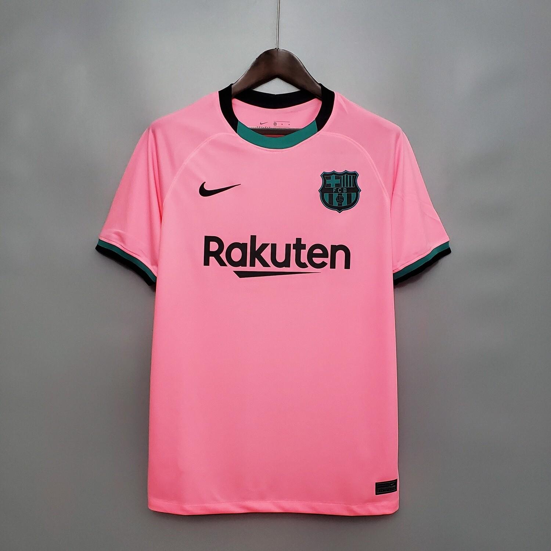 camisa  Barcelona Third  2020-2021  Nike