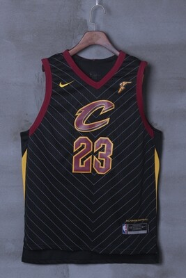 Camisa Nba Cleveland Cavaliers Preto Nº23 James