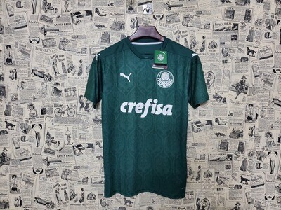 Camisa Palmeiras Puma I 20/21 Verde  Masculina Pronta Entrega