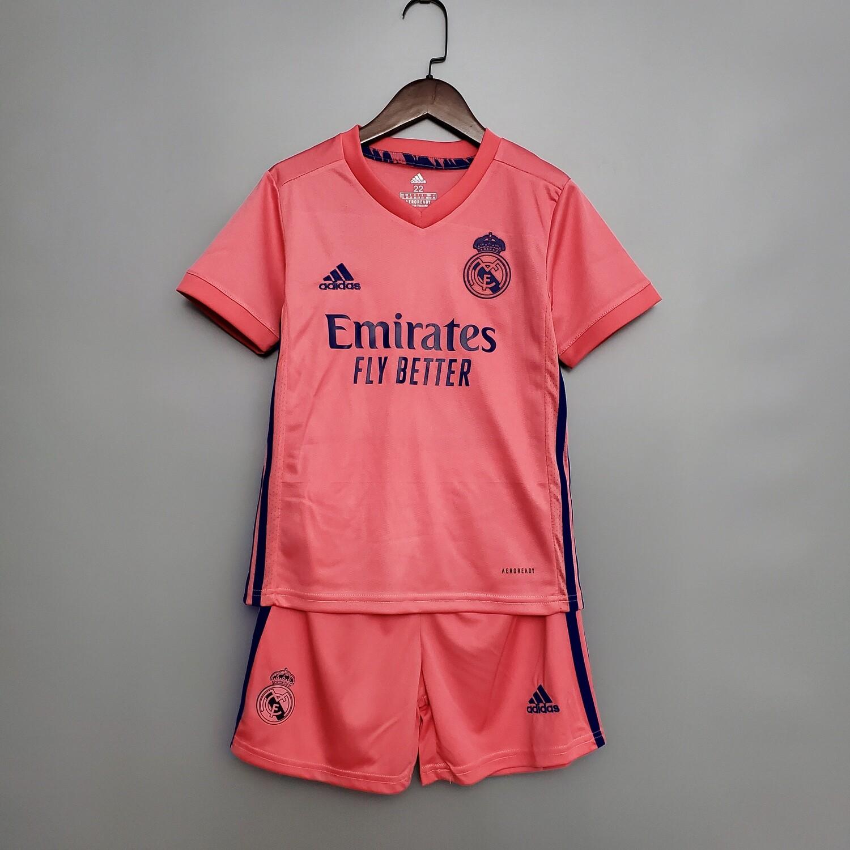 Camisa Real Madrid away 2020/2021 Infantil
