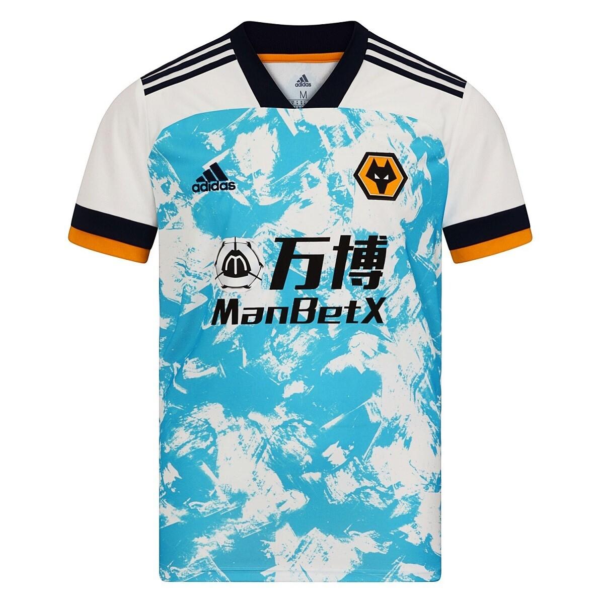 Camisa Wolverhampton Away  2020-2021  Adidas