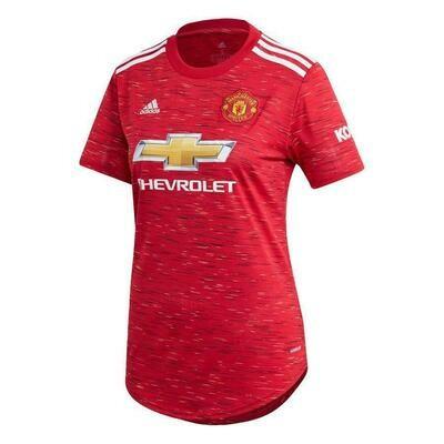 Camisa Manchester United I 20/21 adidas - Feminina