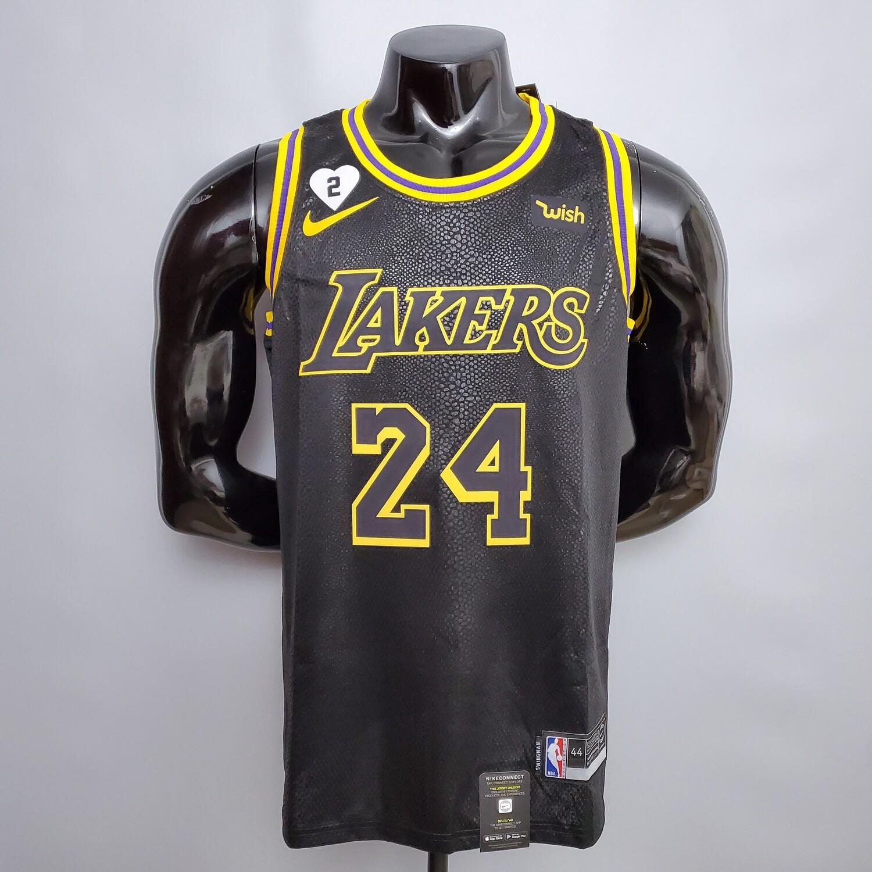 Regata Kobe Bryant #24 Lakers Comemorativo Edition Torcedor