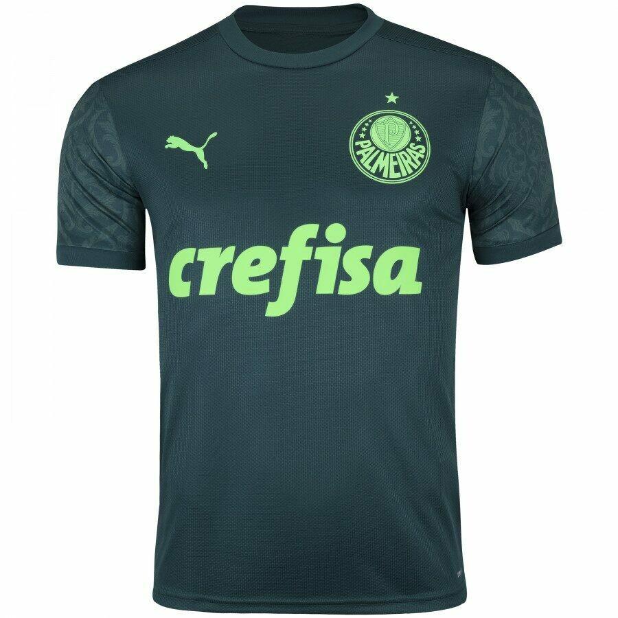 Camisa Palmeiras Puma Jogo 3 III 20/21   Masculina
