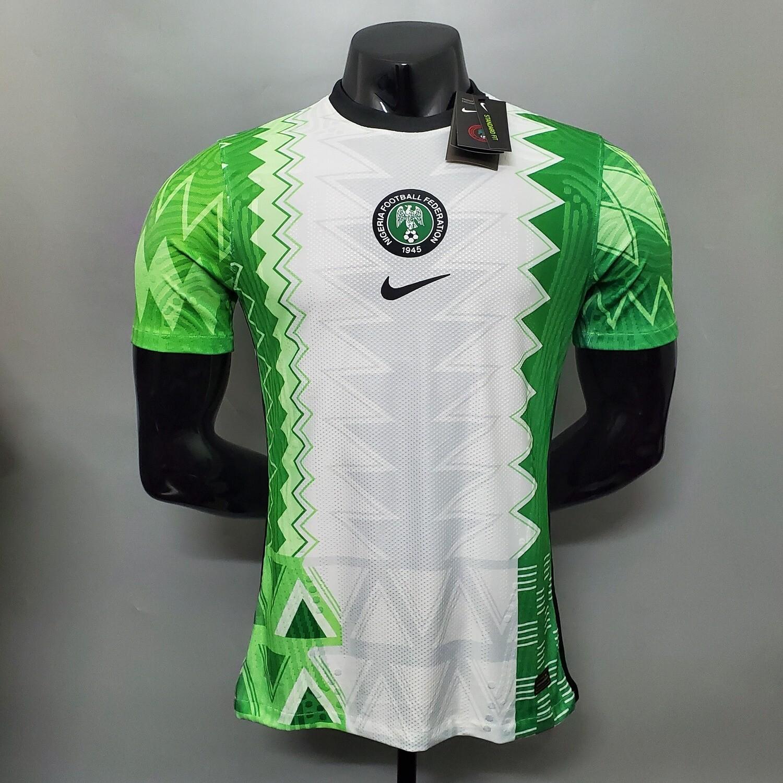 Camisa Nigéria Home 2020-2021 Nike Jogador
