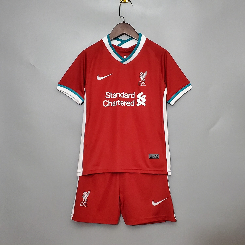 Camisa Liverpool Uniforme 1 2020/2021 Nike