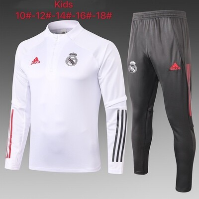Kit Agasalho Infantil Real Madrid 2020