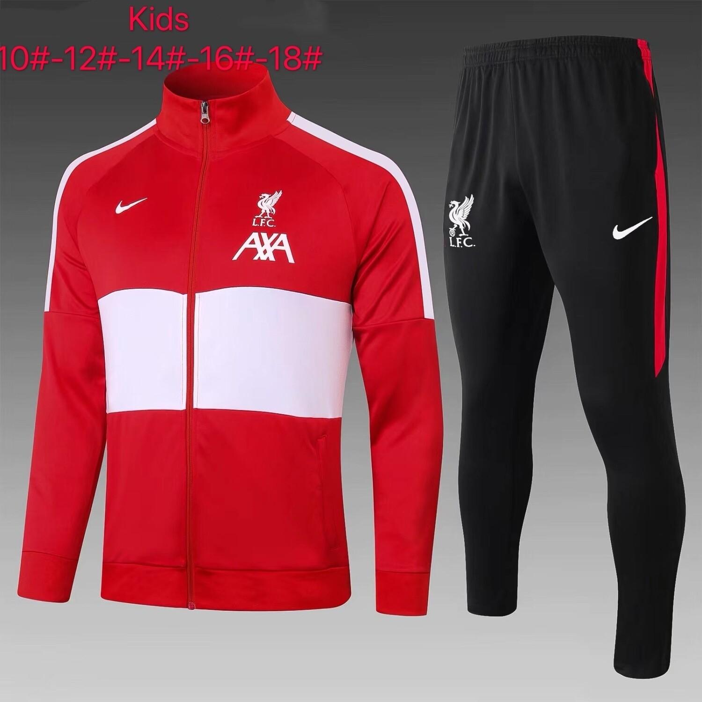 Kit Agasalho Infantil Liverpool 2020