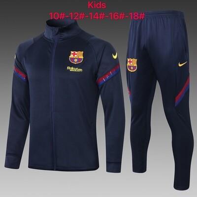 Kit Agasalho Infantil Barcelona  2020 treino