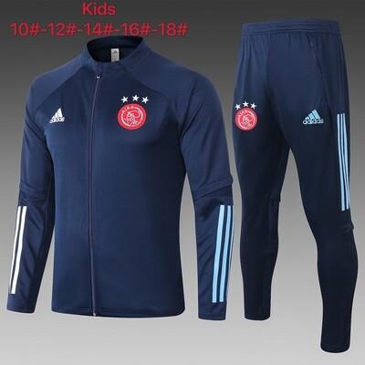 Kit Agasalho Infantil Ajax 2020 treino