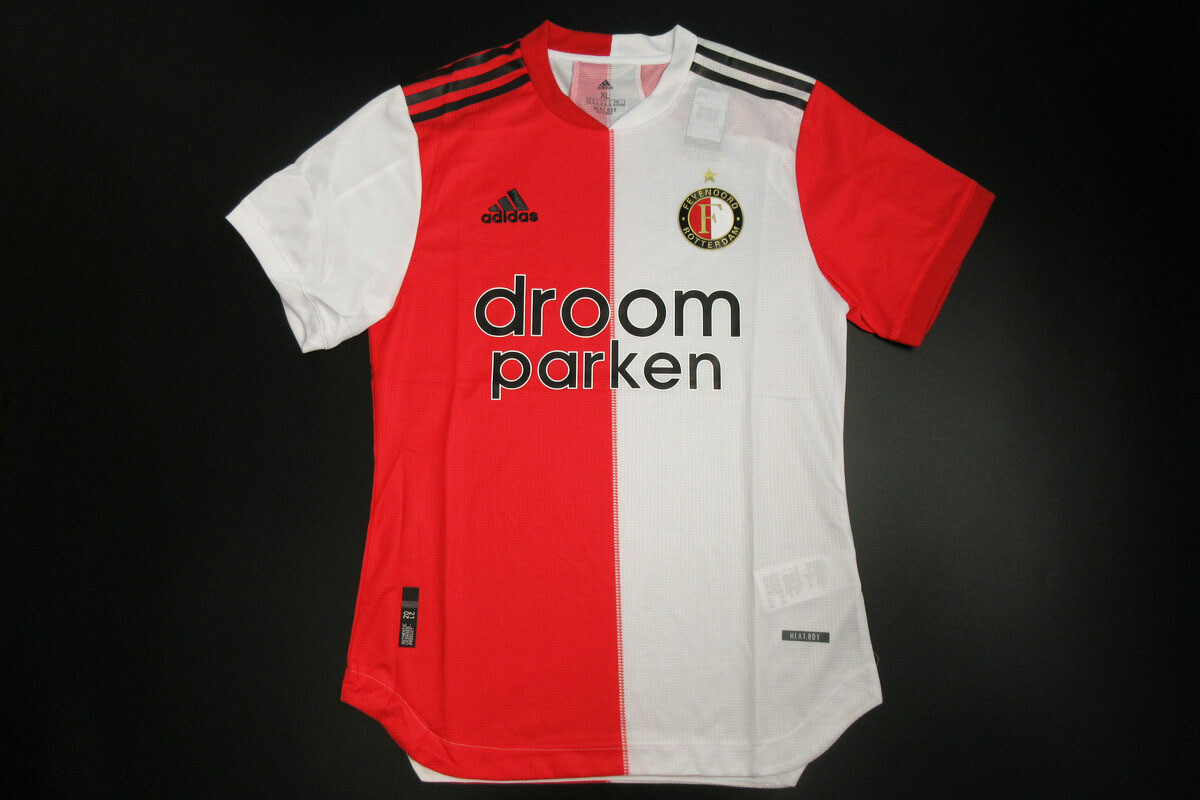 Camisa Feyenoord 2020-2021 Adidas-Jogador