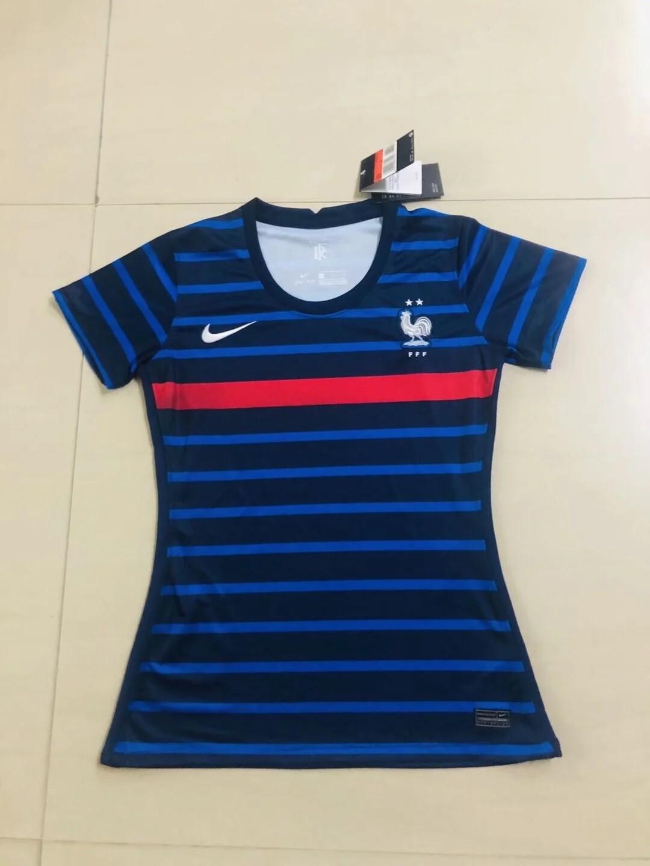 Camisa seleção da França  Feminina Home  Nike  2020/2021