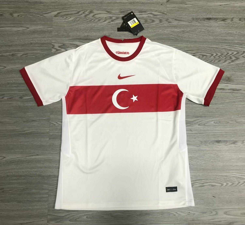 Camisa Turquia 2020-21 Nike  (Uniforme 2)