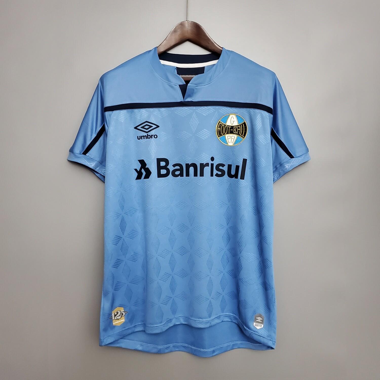 Camisa Grêmio III 20/21 Torcedor Umbro Masculina - Azul e Marinho