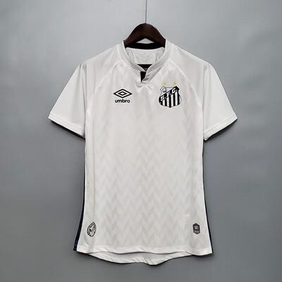 Camisa Santos I 20/21  Torcedor Umbro Masculina - Branco