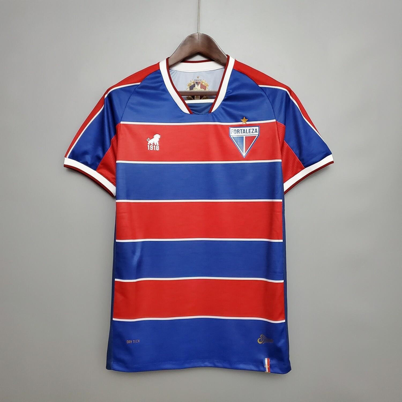 Camisa Leão 1918 Fortaleza I 2020 Masculina - Azul