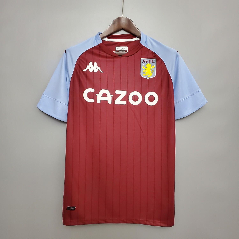Camisa Aston Villa I 2020/2021 Kappa