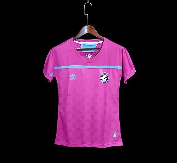 Camisa Umbro Grêmio Outubro Rosa 2020 Feminina