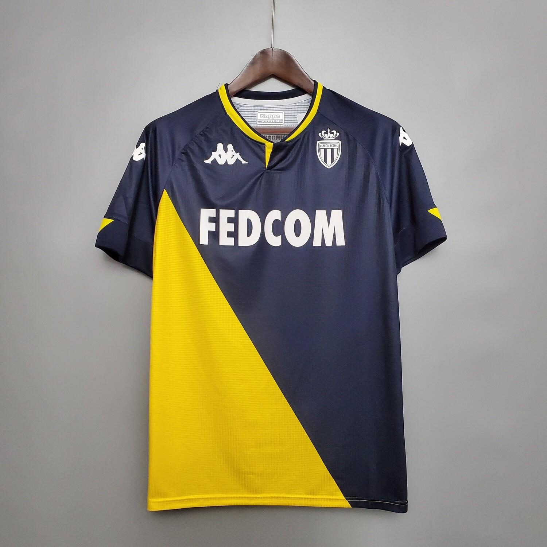 Camisa AS Mônaco Away 2020-2021 Kappa