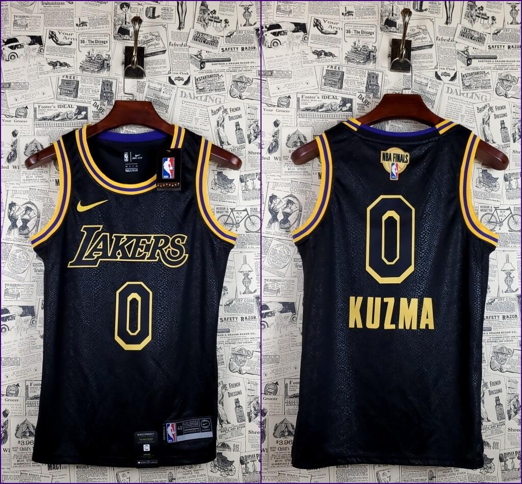 Regata Kuzma #0 Lakers Comemorativo Edition Torcedor