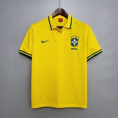 Camisa Polo Amarela  Seleção Brasileira