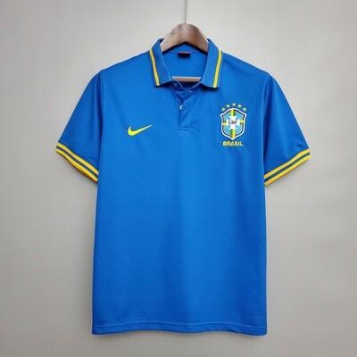 Camisa Polo Azul  Seleção Brasileira