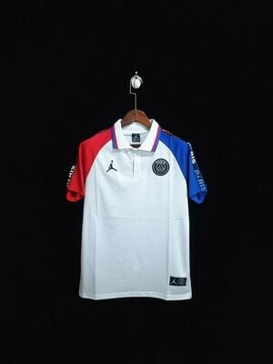 Camisa Polo Branca PSG Jordan