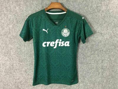 Camisa Palmeiras I 20/21 Torcedor Puma Feminina - Verde