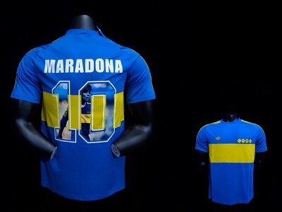 Camisa Boca Juniors - Retrô - 1981