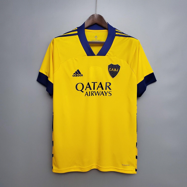 Camisa Boca Juniors Uniforme três 2021  Adidas