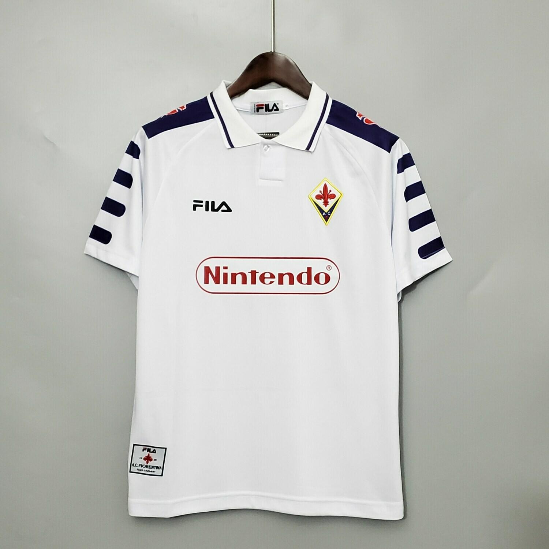 Camisa Fiorentina away   1998- Nintendo
