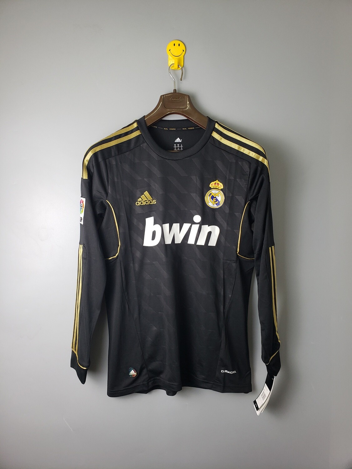 Camisa Real Madrid 2012 Manga  Longa