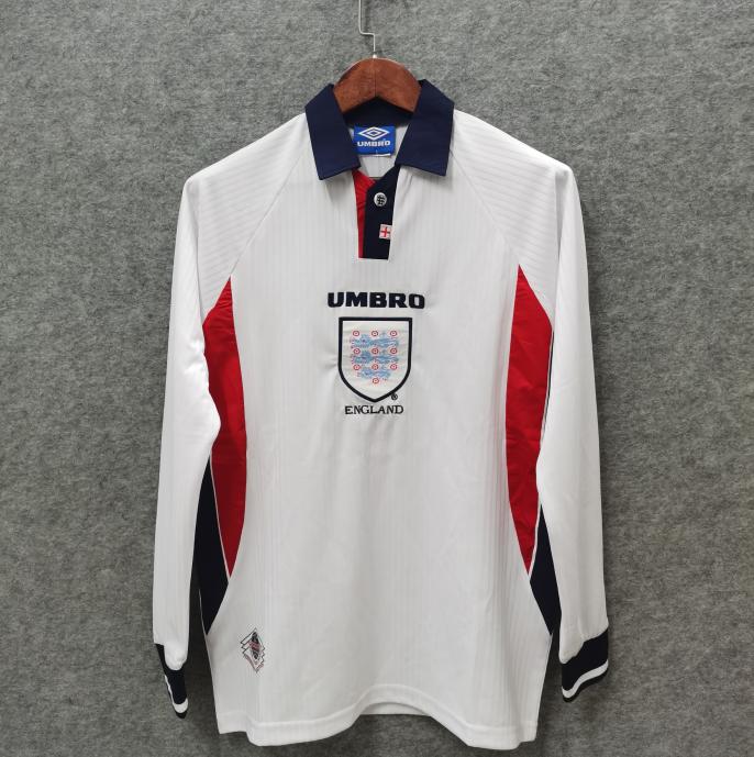 Camisa  1998 Inglaterra Manga Longa
