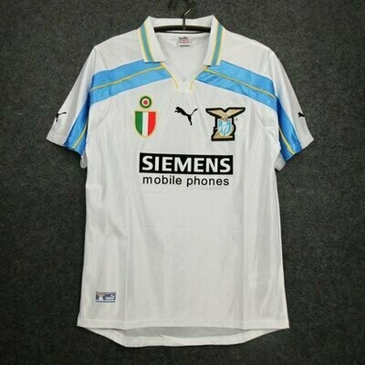 Camisa Lazio 2000-2001 (Away-Uniforme 2
