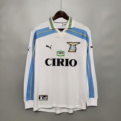 Camisa Lazio 2000-2001 (Away-Uniforme 2 Manga Longa