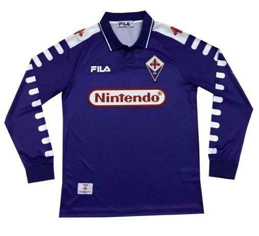 Camisa Retrô Fila Fiorentina 1998/1999 - Manga Longa