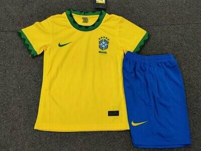 Camisa Seleção Brasileira  Infantil  2020/2021 Uniforme 1