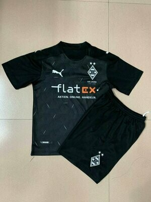 Camisa Borussia  Mönchengladbach  Infantil  2020/2021 Uniforme 2
