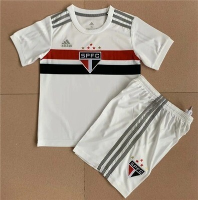 Camisa São Paulo Infantil  2020/2021 Uniforme 1