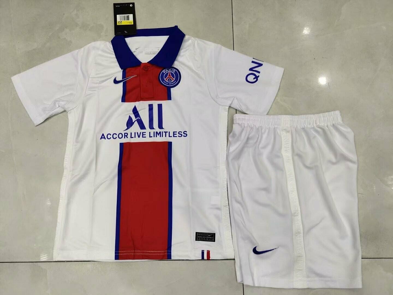 Camisa  PSG Infantil 2020/2021 Jogo 2