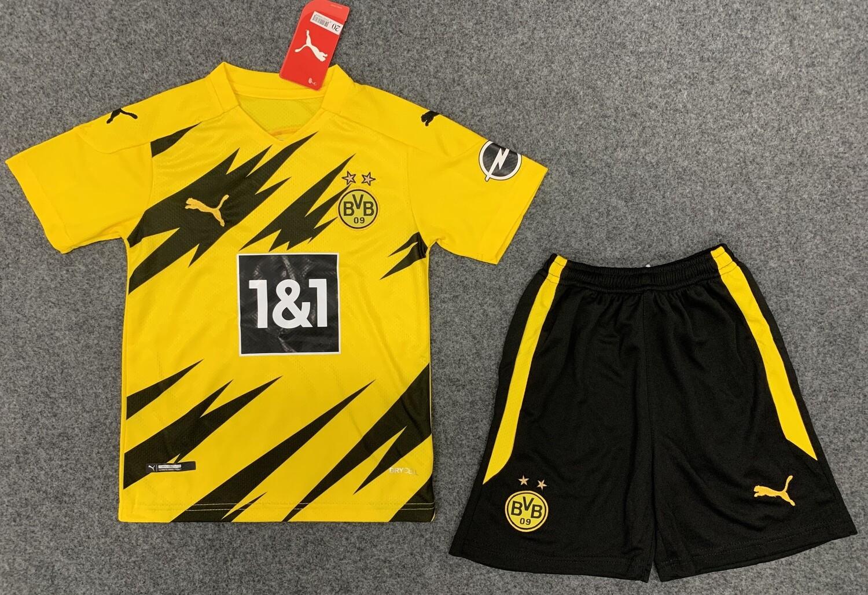 Conjunto Infantil Borussia Dortmund Home Puma 2020/2021