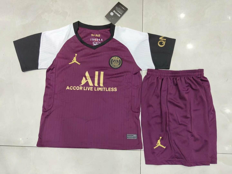 Camisa  PSG Infantil 2020/2021 Jogo 3