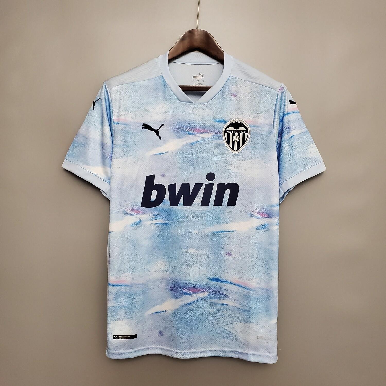 Camisa Valencia 2020/2021  Torcedor Puma Masculina Jogo 3