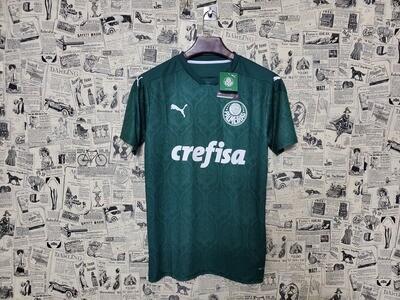 Camisa Palmeiras Puma I 20/21 Verde  Masculina